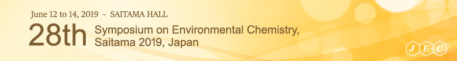 28th Symposium on Environmental Chemistry, Saitama 2019, Japan
